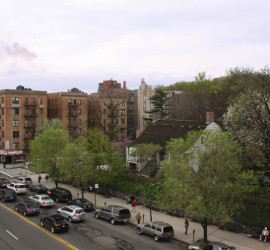 DFM - Roof view across Broadway s de vries, 2010