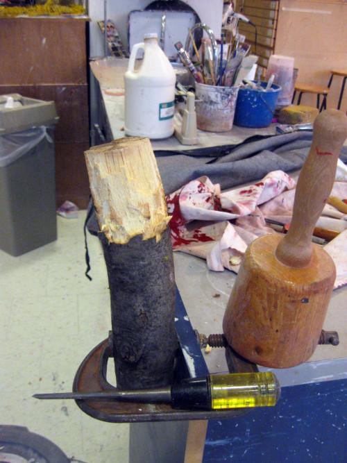 Christpher Garcia Beech Tree Project In Process
