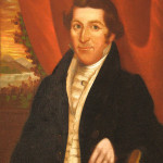 Portrait of Dr. Jacob Dyckman dating from circa 1810-1825.