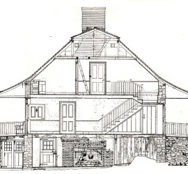 Dyckman Farmhouse. Historic American Building Survey. Library of Congress.