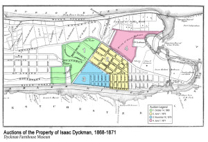 Auctions of the Property of Isaac Dyckman, 1868-1871