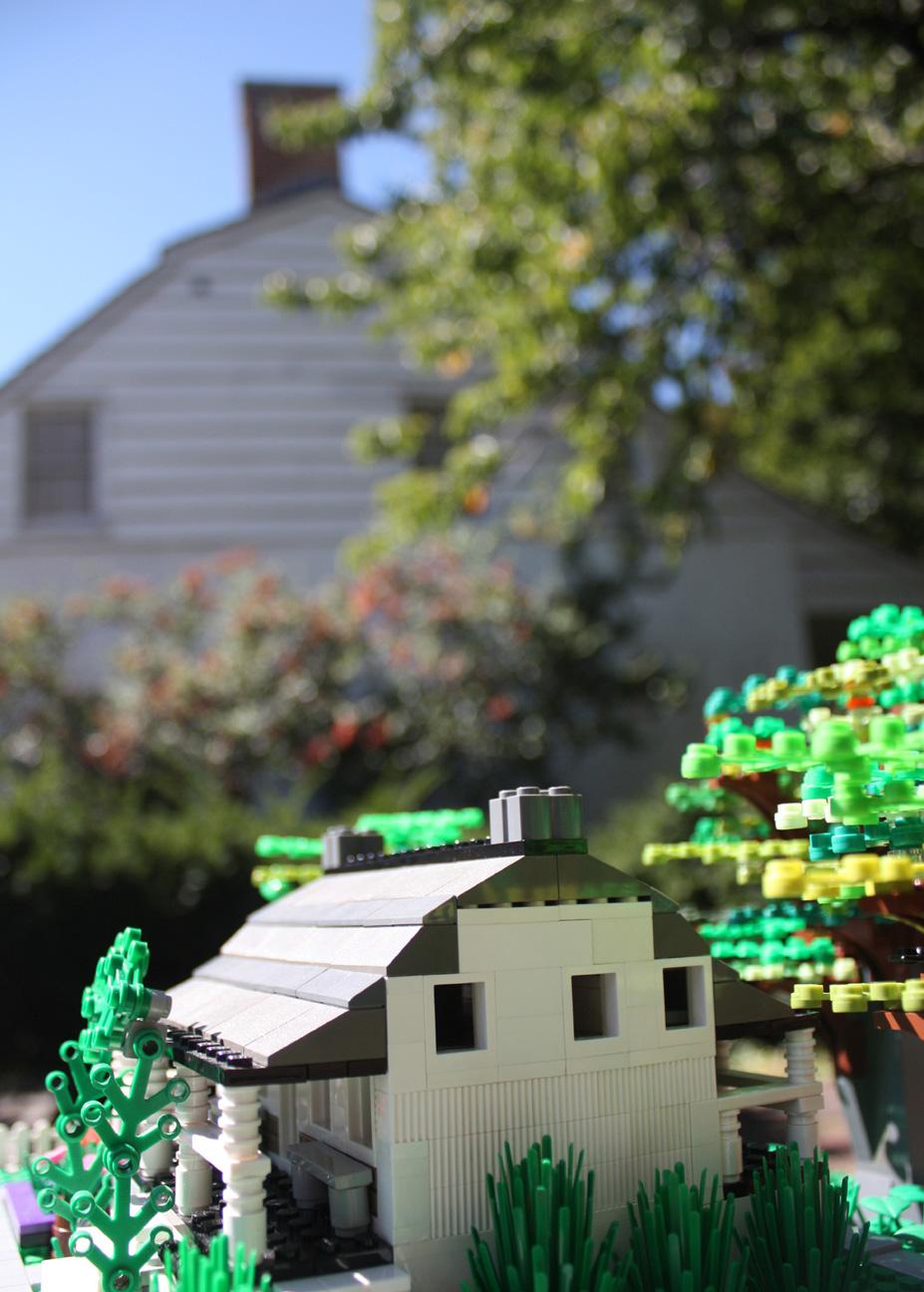 Miniature Dyckman Farmhouse